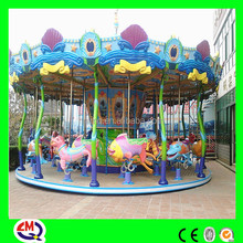 2015 new animated printing ocean kiddies carousel ride for sale