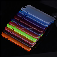 Anti-Skid 0.3mm Ultra Thin Slim Flexible Colorful Matte Frosted Clear Soft PP Cover Case Skin for iPhone 6 6S plus