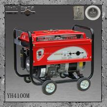 B&S 230v/380v permanent magnet small portable 3kw petrol generator