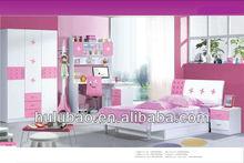 Hotsale Wooden kids bedroom furniture,kids wood bedroom furniture