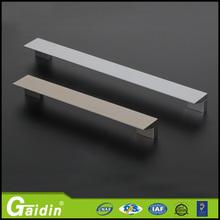 Customer tailored welcome aluminum razor blade furniture cabinet door drawer pull handle