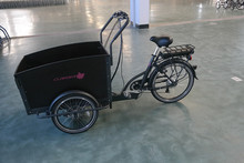 2015 New Electric coffee tricycle cargo Tricycle/cargo bike UB9031E