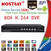 los sistemas de seguridad vigilancia 8c hdvr h 264 dvr dvr grabadora de