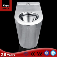 Kuge stainless steel toilet sanitary ware for disabled