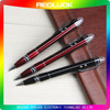 Customized Logo Promotion 3 In 1 Metal Flashlight Stylus Pen For Christmas Gift