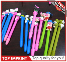 2015 new product animal shaped polymer clay ball pen