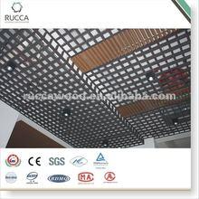 rejilla de plástico del panel de techo
