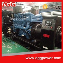 910KVA/728kw open type diesel generator with MTU engine and low price