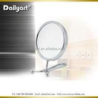 2015 Dailyart Double sides Folding table handy hollywood makeup mirror