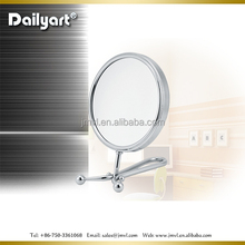 Special design double sided table/hand makeup mirror