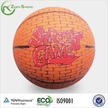 Zhensheng Custom Rubber Basketballs Official Size