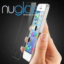 Nuglas High Quality Tempered Glass Screen Protector for iPhone 5/5C/5S