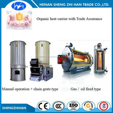 Trade Assurance Three Pass hot oil induction heating fired steam boiler Combine Heat and power generation plant