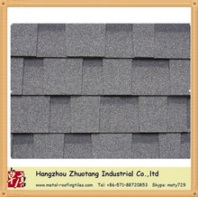 Zhuotang hot sale!!!Top quality roofing material laminated asphalt shingle