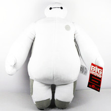 "Cartoon Movie Big Hero 6 Baymax Robot Movie Toys Baby Toys Gifts 15"" Plush Toys Doll"