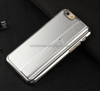 Creative light up cell Phone Case With USB port For Iphone5/6, cigarette lighter case,lighter mobile phone case CO-PC-3011