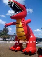Attractive Decoration Giant Inflatable cartoon dinosaur