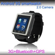 3G MTK6577 GPS wrist watch phone android for sale