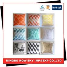 Waterproof cushion cover/waterproof fabric outdoor cushion cover/ waterproof sofa cushion covers