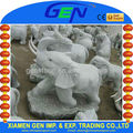 Estátua de granito de espeleologia/elefante animal