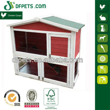 DFPETS DFR024 Factory Directly Wooden Animial Cage For Rabbit