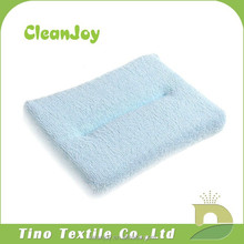 Cleaning cloth car seat with car cleaning sponge