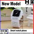 Nuevo diseño barato reloj teléfono inteligente N8