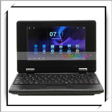 Hot Sale Cheap 7 Inch Netbook VIA8850 Android 4.1 with 8GB Hard Drive Black US Standard