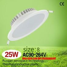 Thermal Plastic LED light Trade Assurance 25W new 8inch led ceiling lighting CE led lamp downlight