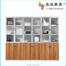 Solid wood Office Cabinet/Modular office filing cabinet bookcase/ wooden bookshelf