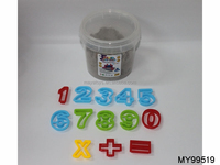 HOT magic kids play sand toy with mold kit bucket packing