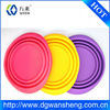 Foldable Silicone Pet Bowl for Traveling/ silicone food bowl/ silicone dog bowl