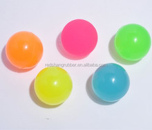 promotion high bounce silicone rubber ball