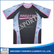 100 polyester plain tshirts for printing Dye sublimation Tshirt for sale
