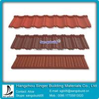 Coloful Sand Stone Coated Roof Tile/Aluminum Zinc Roofing Shingle/Classical Coated Steel Roof