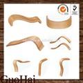 apoyabrazos de madera curvada