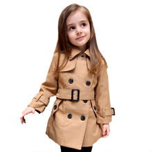 Baby Girls Jacket Kids Outerwear Toddler Trench Princess Coat Clothes Manufacturer Customization OEM Type Factory Guangzhou