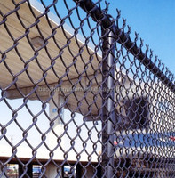 Plastic 9 gauge high quality chain link fence in store for sale (8 years producing experience)