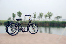 2015 new model three wheel 7 speeds Tricycle with 36V battery,250Wmotor GW 7019E