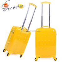 Lemon Yellow Lovely ABS/PC Carry On Luggage Bag