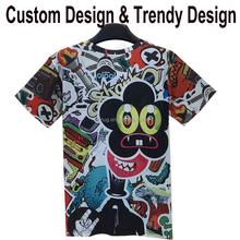 custom dye sublimation t-shirt printing hong kong