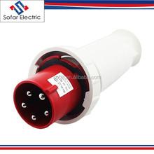 SF-045 Type of IP67 Waterproof 240V 125A 5Pin 3P+N+E Industrial Plug