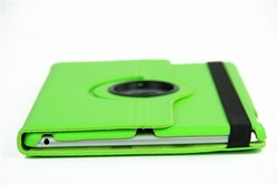 for ipad air new design rotating leather cover , revoled PU leather case for ipad 5