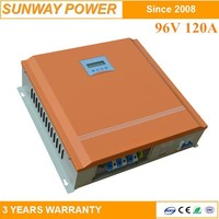 120A 96V Multi-Function Intelligent MPPT Solar Charge Controller with LCD Display