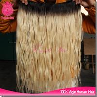 Top grade 20 inch virgin remy brazilian human hair weft, virgin queen hair products