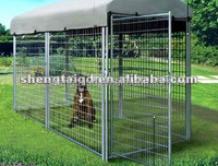 The 10'x10'x6 Dog Pen/Kennel (4 Panel Chain Link)