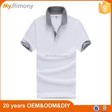 New fashion polo t shirt men factory