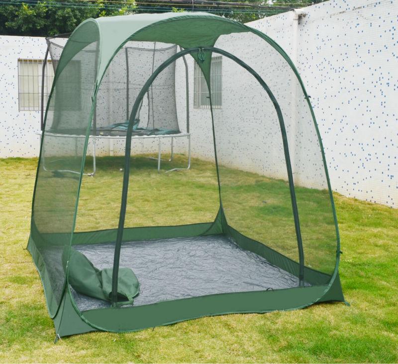 Steel Frame Outdoor Six Edge Leisure Tents Garden Pop Up