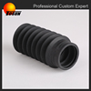 black EPDM/NBR/SILICONE corrugated tube,rubber bellows tube for car