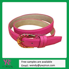 2015 alibaba top-selling fashion colorful Genuine leather belt for ladies
